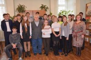 Встреча  с поэтом В. Игиным